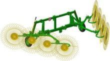 Грабли колёсно-пальцевые ГКП-8(-01)